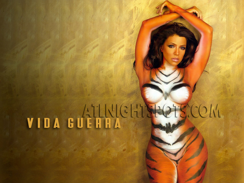 Inquiry vida guerra tiger body paint
