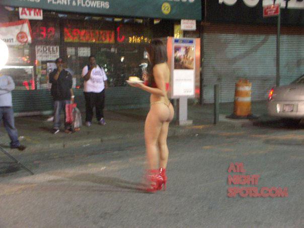 Bikini On The Street 18