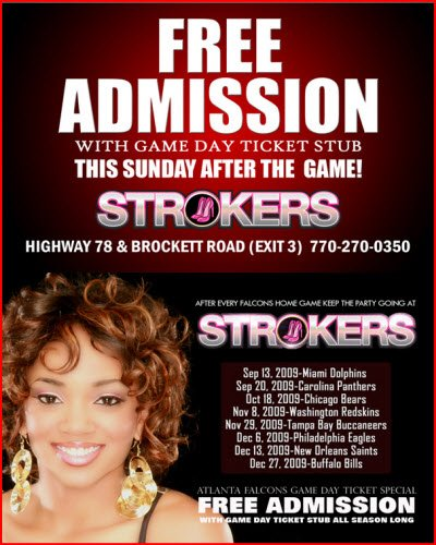 Atlanta strokers strip clubs