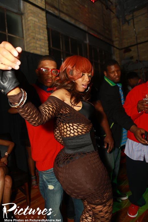 Pebbelz Da Model Going Ham In The Club Atlnightspots