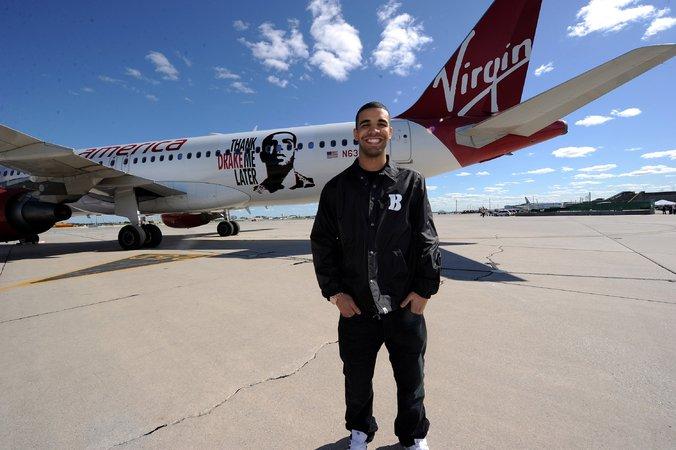 Drake International Toronto >> Virgin Airlines Drake Plane – Atlnightspots