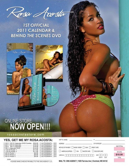 Rosa Acosta Calendar (BTS) Video | ATL Night Spots ...