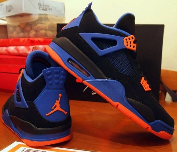 online retailer eff86 35636 Air Jordan 4 Cavs have a May release date.. The colorway is black nubuck  upper against orange and blue accents. They will be available in stores on  May 12th ...