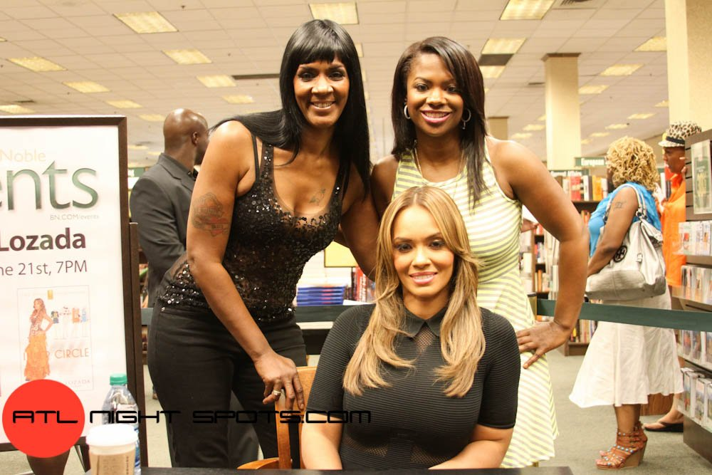 Evelyn Lozada's Inner Circle Book Signing In Atlanta
