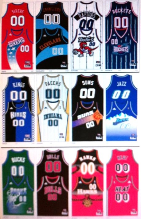 Nba basketball jerseys 2013