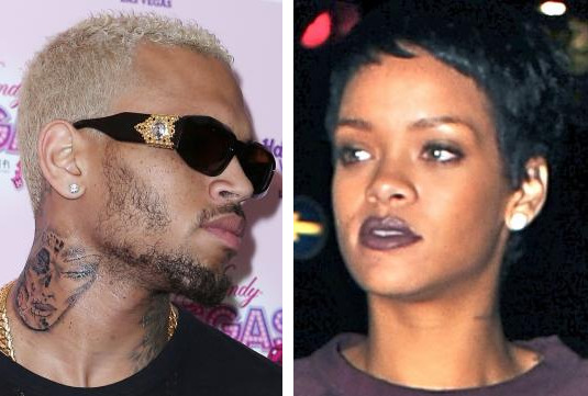 Chris Brown Neck Tattoo: Rihanna or Not Rihanna? - The Hollywood ... Chris Brown Rihanna Tattoo