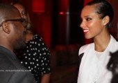 "Alicia Keys ""Girl On Fire"" album Meet-n-greet Album  (3 of 8)"