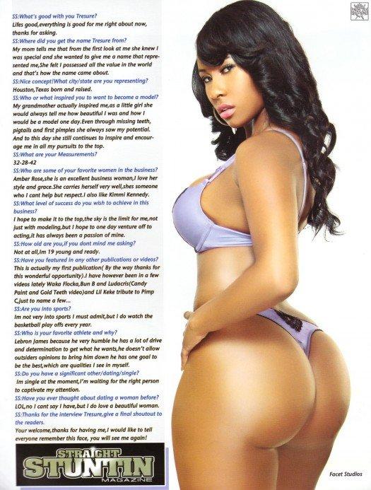 Straight Stuntin Magazine Models