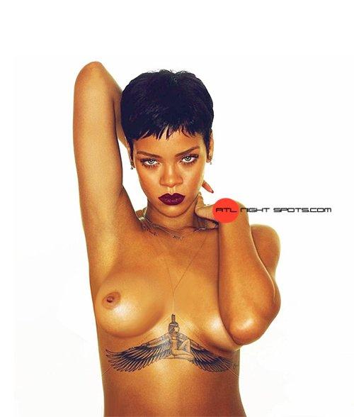 Rihanna uncensored nude photos