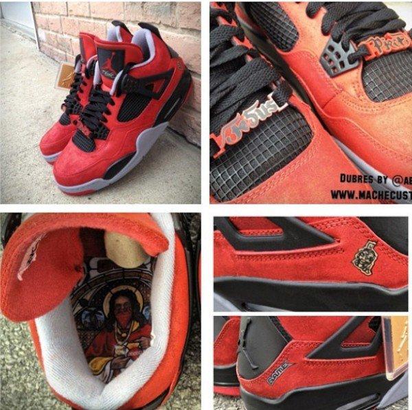 """Air Jordan 4 """"Jesus Piece"""" Custom – Atlnightspots b6f447def417"""