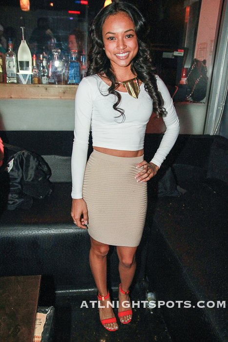 Karrueche In Harlem Nights
