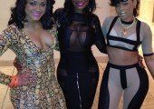 Maliah, Brook Bailey and Keyshia Kior
