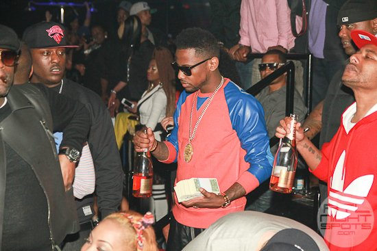 Fab, Young Jeezy, T.I. Partying at Cameo Friday