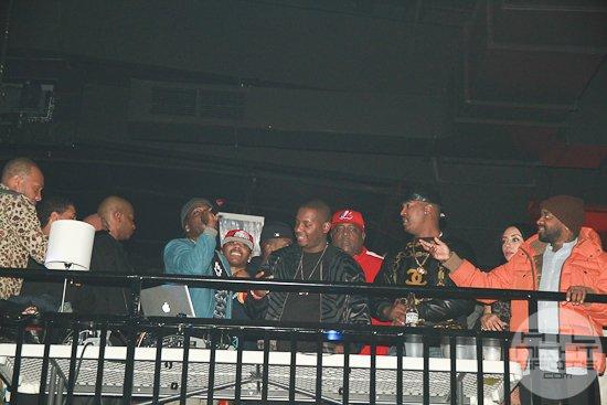 DJ Self, DJ Infamous, Jermaine Dupri, Nelly
