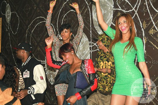 Love & Hip Hop Che Mack Celebrates Her Bday at Aurum Lounge