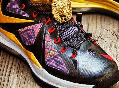 "8acea191f09 ... Nike LeBron X ""Invictus 10"" Customs by Gourmet Kickz ..."