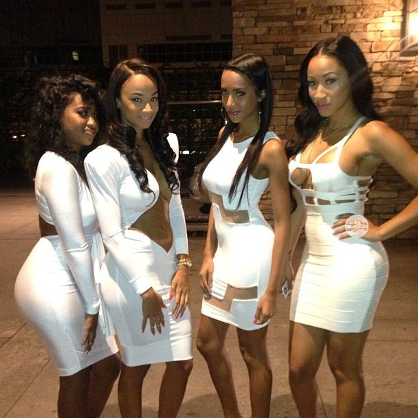 Top 10 se*iest Headed To Prive All White Party Pictures ...