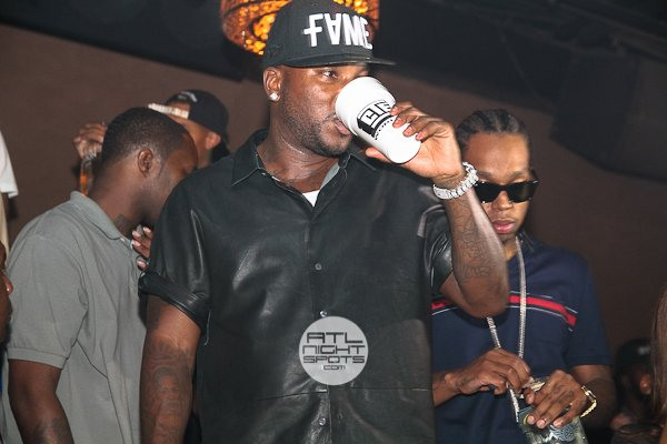 Jeezy & DopeBoyz Cashout Party In Cream Lounge