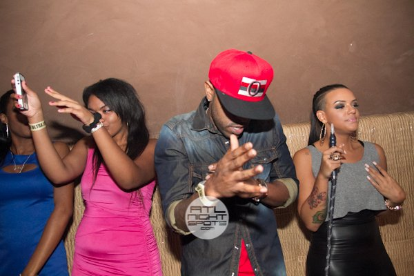 Verse simmonds, Yung Joc, A-1 Supergroup party in Cream lounge Friday