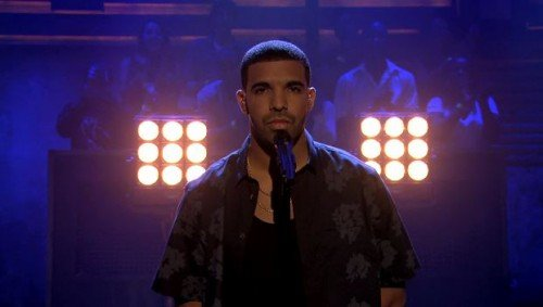 "Drake Performs ""Too Much"" Live On Jimmy Fallon"