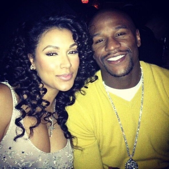 Is erica really dating floyd mayweather