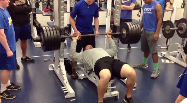 braden smith bench press - photo #6