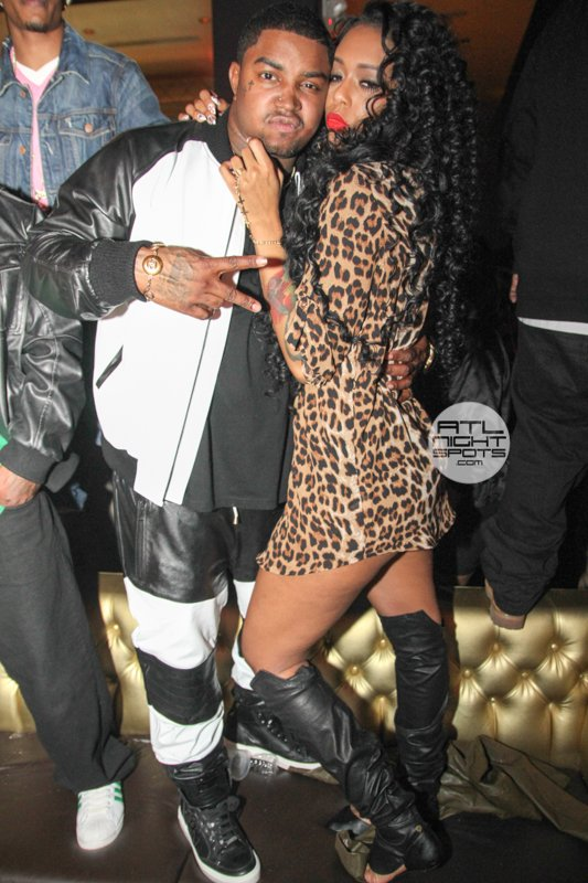 Lil Scrappy Bday Party At Aurum