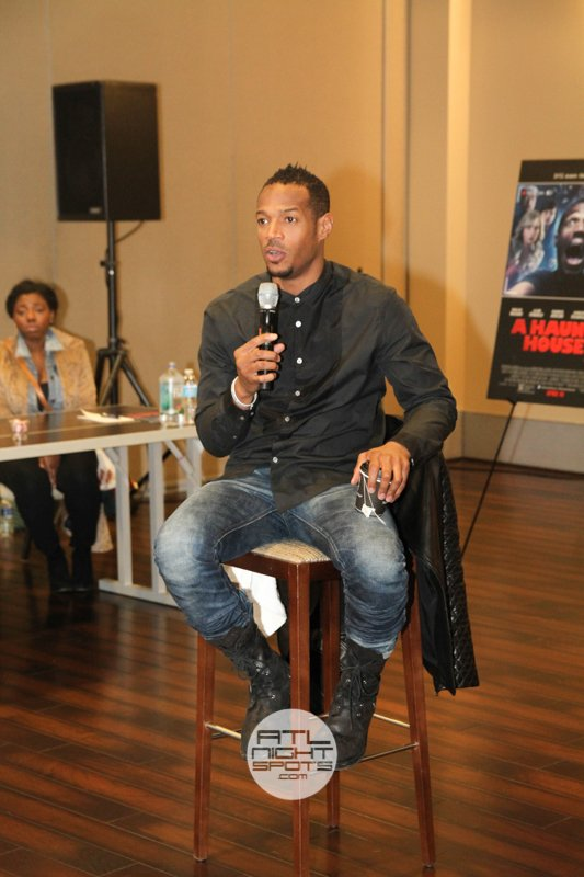 Marlon Wayans Haunted House 2 Press Reception
