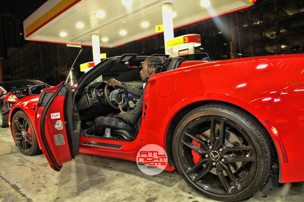 photo of Young Thug 2014 Chevy Corvette Stingray Z51 Convertible - car
