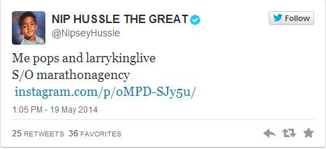 Nipsey Hussle Dad