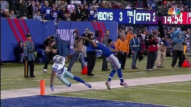 how to catch a football like odell beckham jr