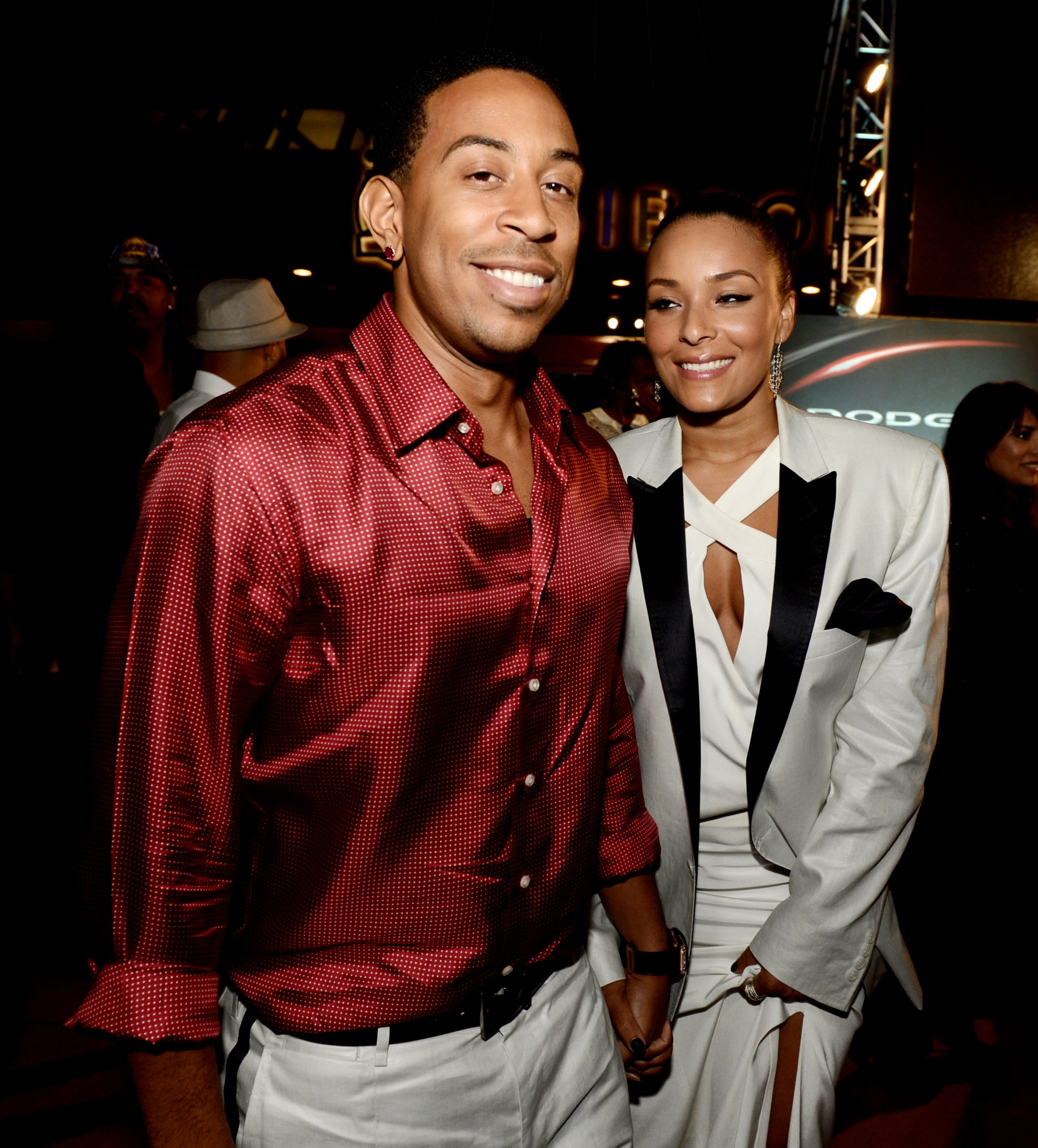 Ludacris wasn't wasting any time after ...