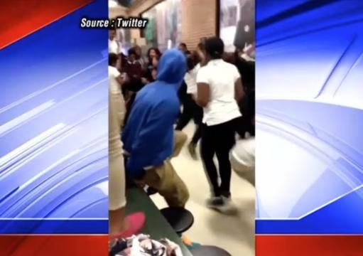 Mob Of Girls Fight One Another At White Station High School In Memphis ...
