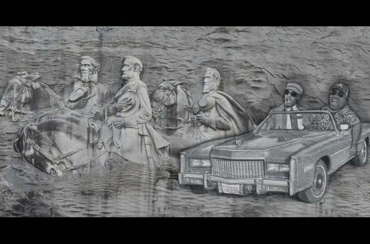 Sign the petition outkast carving on stone mountain
