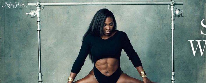 spread Serena williams
