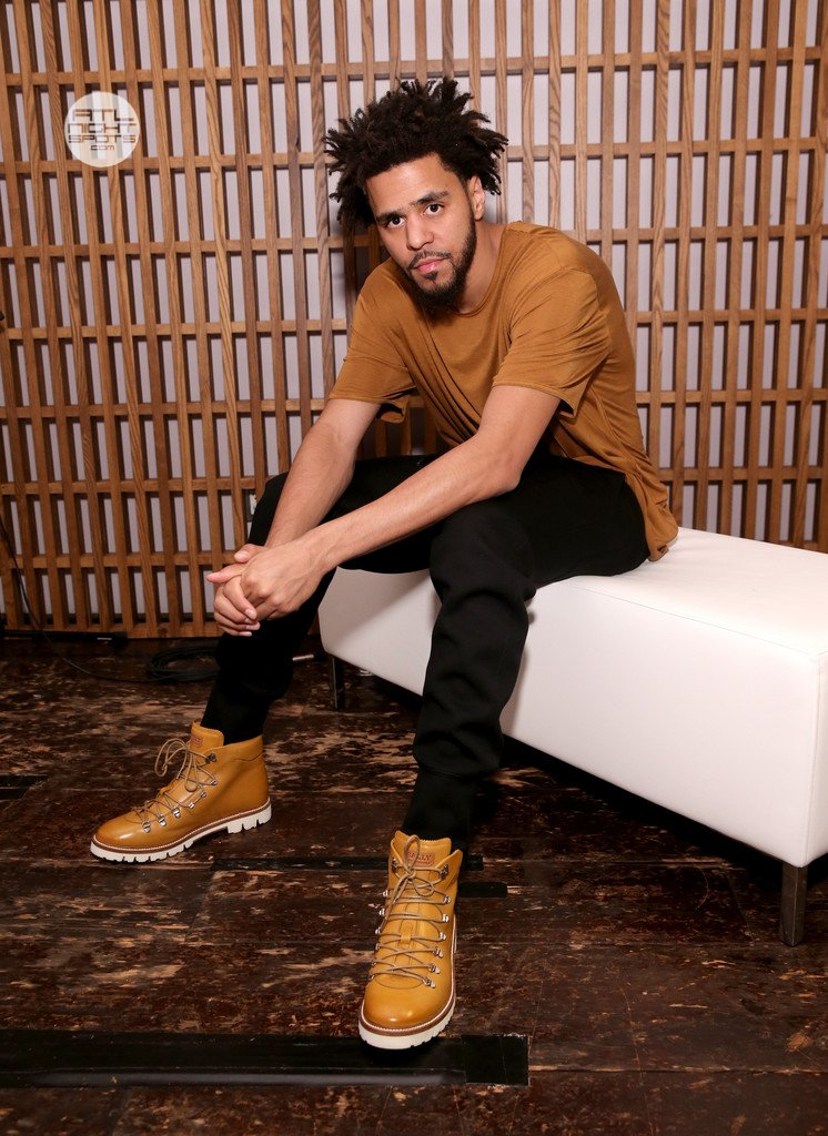 c0f02117de9 J. Cole attends BALLY s  Off the Grid  New York premiere.    Photo by   Neilson Barnard