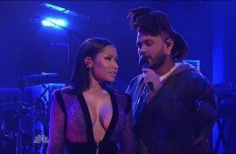 weeknd-nicki-snl