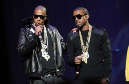 NEW YORK - AUGUST 22:  Rappers Jay Z (L) and Kanye West perform onstage during Screamfest '07 at Madison Square Garden on August 22, 2007 in New York City.  (Photo by Scott Gries/Getty Images)