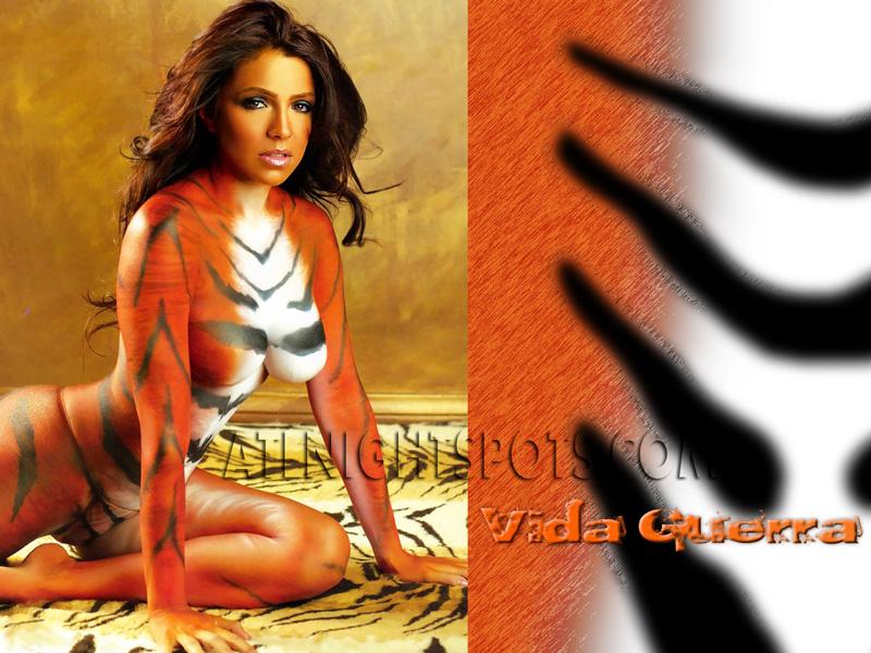 Vida-Guerra-Tiger-Paint-atlnightspots-pics-atlanta-night-club