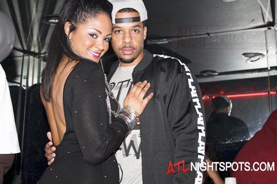 Maliah Michel in Kamals 21 strip club pictures - Atlanta