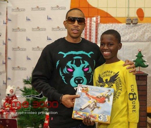 Ludacris Christmas.Ludacris Celebrates Ludacrismas Giving Atlanta Youth