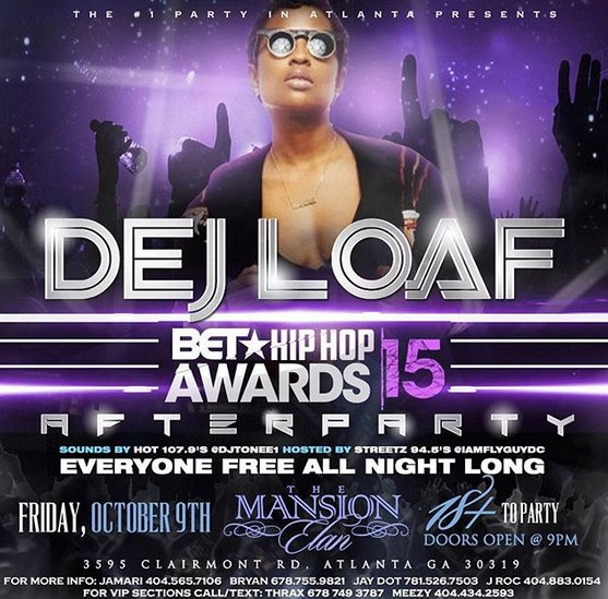 DEJ LOAF AT MANSION ELAN