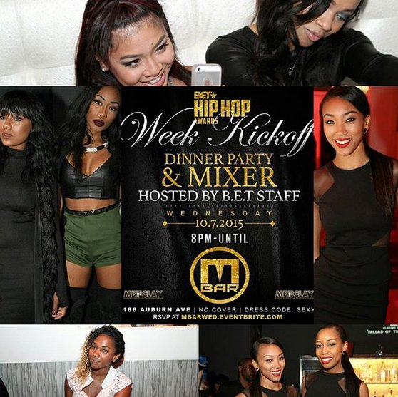 MBAR LOUNGE BET HIP HOP WEEKEND KICK OFF
