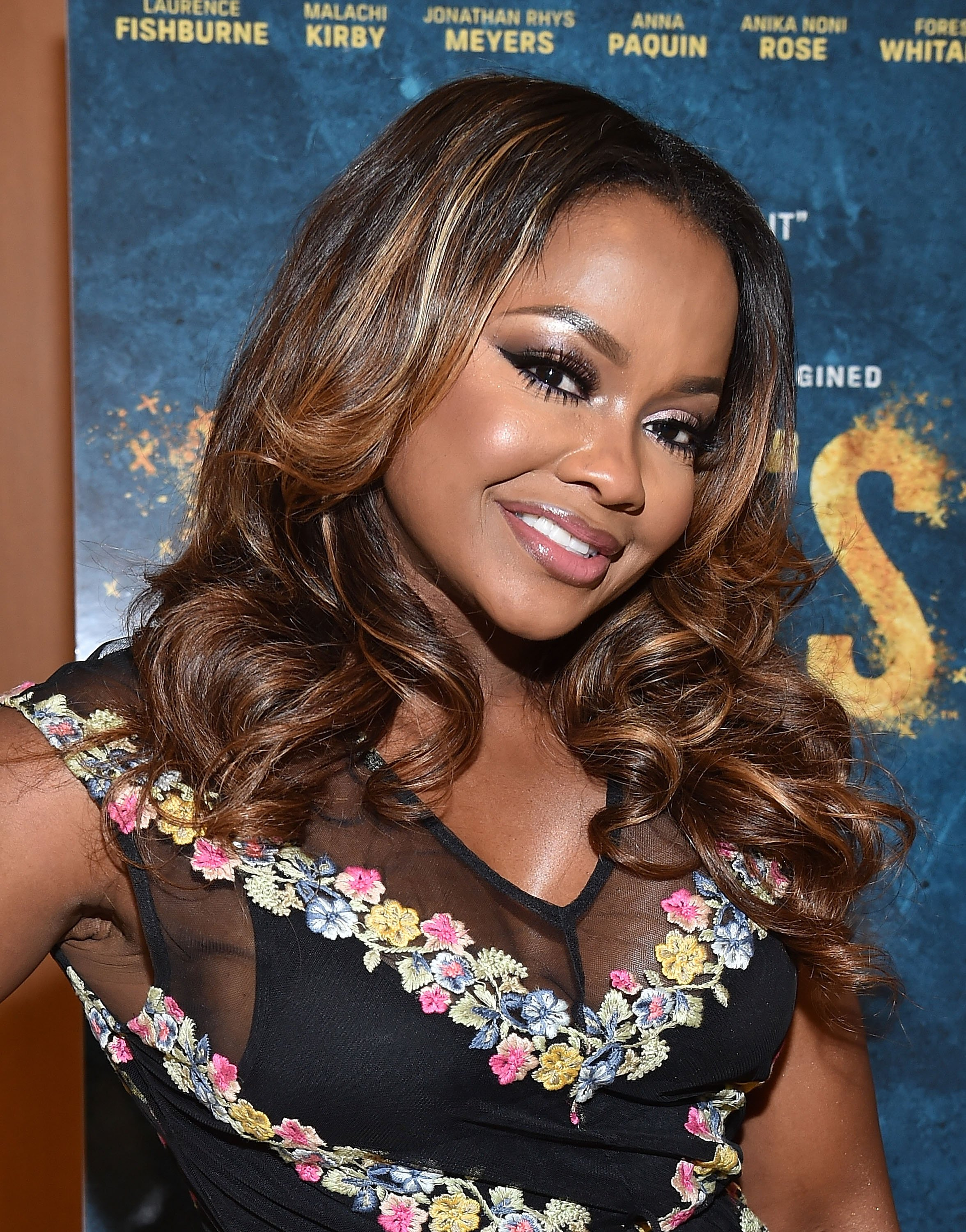 """""""ATLANTA, GA - MAY 09: (EXCLUSIVE COVERAGE) TV personality Phaedra Parks attends HISTORY's """"Roots"""" Atlanta advanced screening at National Center for Civil and Human Rights on May 9, 2016 in Atlanta, Georgia. (Photo by Paras Griffin/Getty Images for History/Roots)"""""""