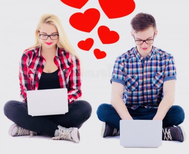 Online dating with